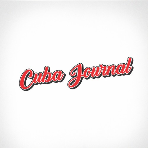 Magazine logo with the title 'Cuba Journal - digital magazine'