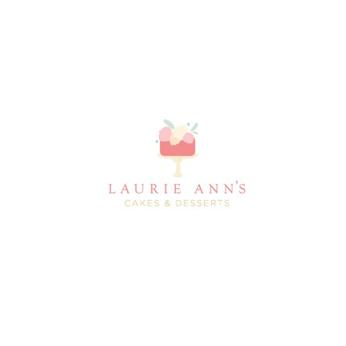 Pastel logo with the title 'Pastel logo for pastry artist.'