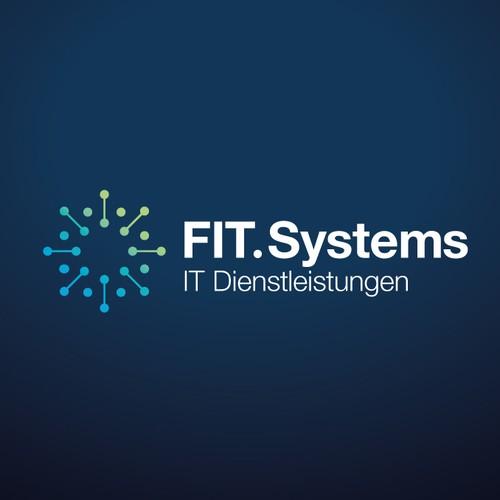 Computing logo with the title 'FIT.Systems - IT Dienstleistungen'