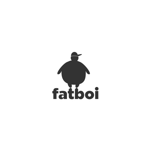 Shirt logo with the title 'fatboi'