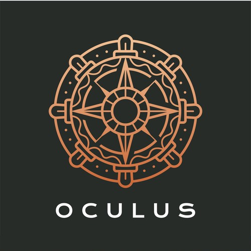Compass logo with the title 'OCULUS'