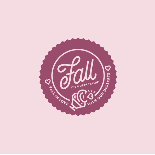 Cake brand with the title 'Fall'