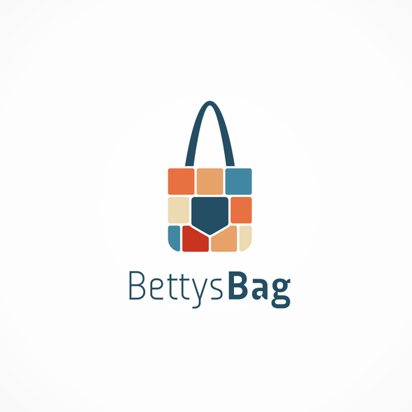 Paper bag logo with the title 'Bettys bag logo'