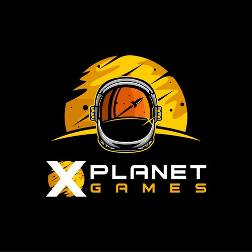 Orange logo with the title 'X PLANET GAMES'