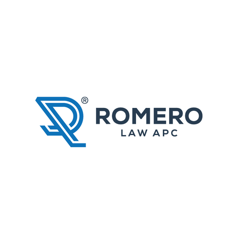 R logo with the title 'Logo designs for Law Firm'