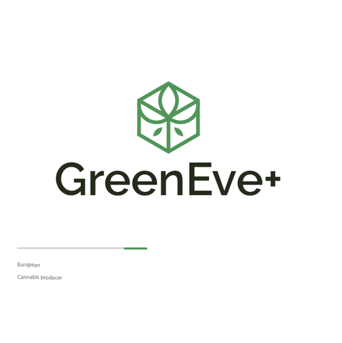 Edibles logo with the title 'GreenEve+'