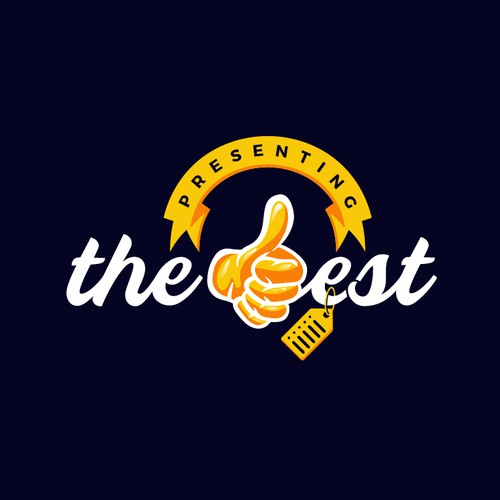 Award logo with the title 'Presenting The Best'