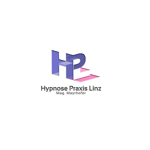 Initial logo with the title 'Hypnose Praxis Linz'
