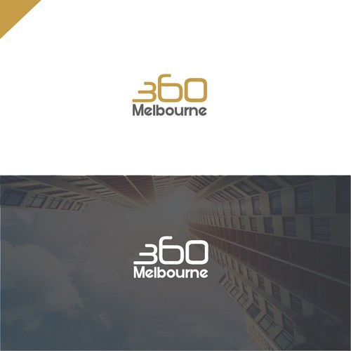 360 logo with the title '360 logo deign'
