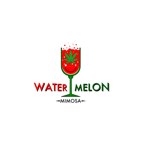 Watermelon logo with the title 'Watermelon Mimosa'