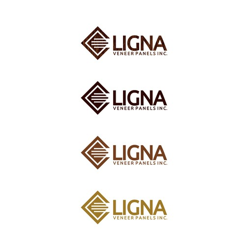 Appealing logo with the title 'LIGNA'