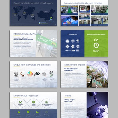 PowerPoint for medical manufacturer