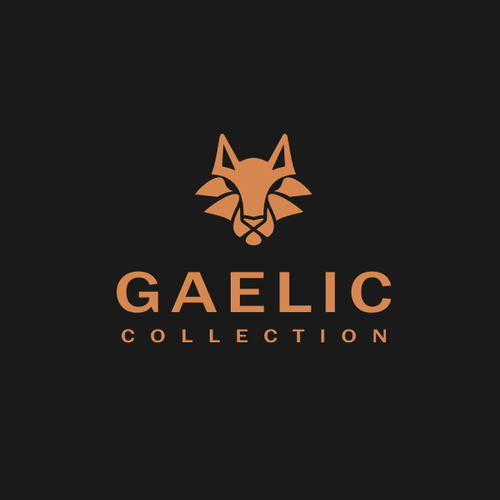 Wolf logo with the title 'GAELIC'
