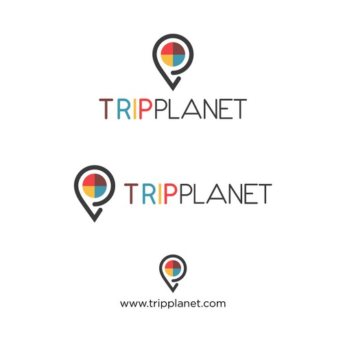 Planet logo with the title 'Trip Planet'