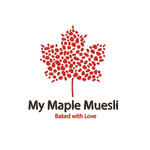 Maple design with the title 'My Maple Muesli'