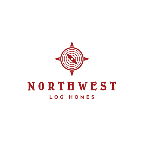 Compass design with the title 'Northwest Logo'