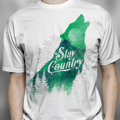 New design with the title 'Vintage Country T SHIRT'