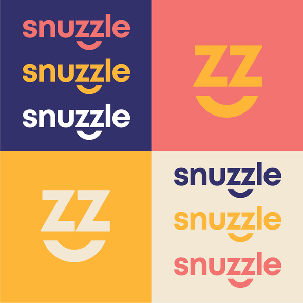 Blanket logo with the title 'Snuzzle'