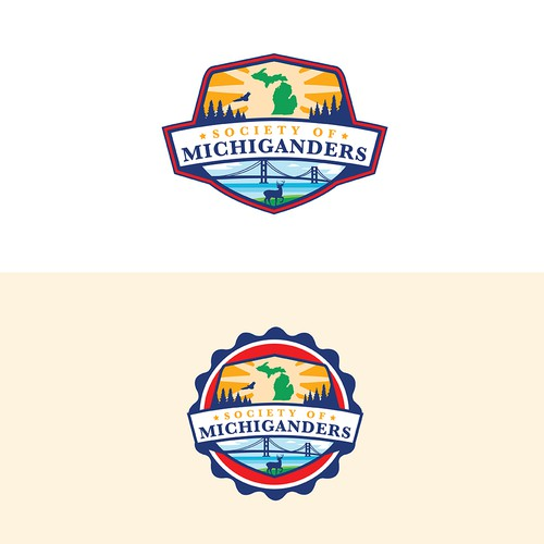 Society logo with the title 'Society of Michiganders'
