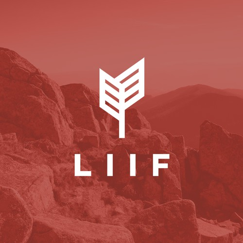 Organic logo with the title 'Liif '