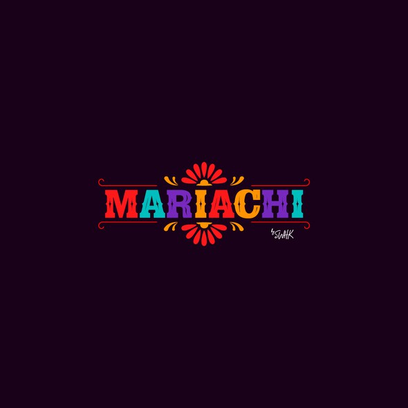 Snack logo with the title 'MARIACHI'