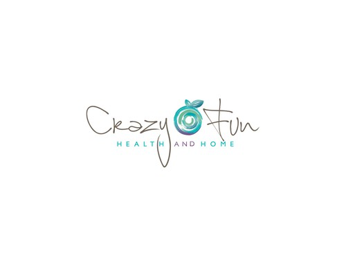 Original design with the title ' organic logo for Crazy Fun Health and Home.'