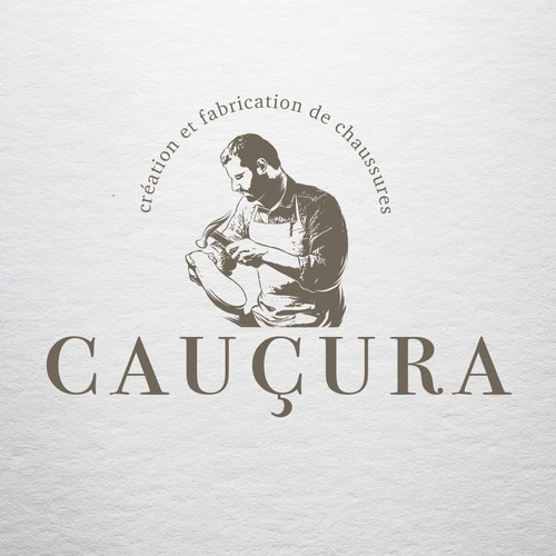 Sketchbook design with the title 'CAUCURA'
