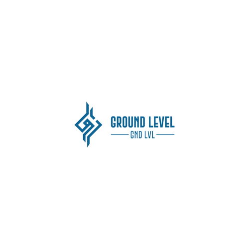 Ground design with the title 'Ground Level Logo'