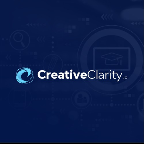 Motivational logo with the title 'Creative Clarity'