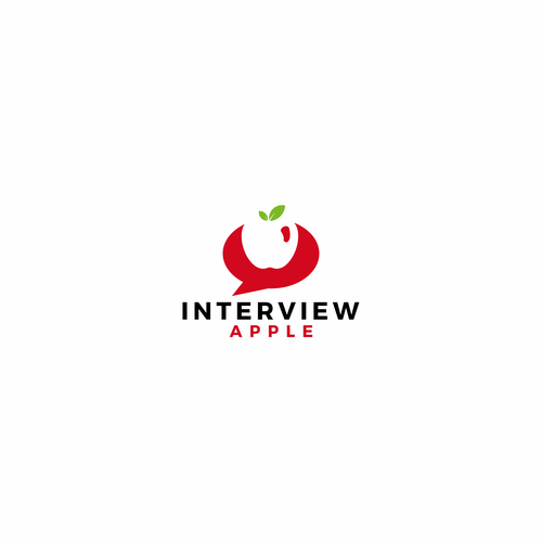 Interview logo with the title 'New Logo Design for sister company around Interviews'