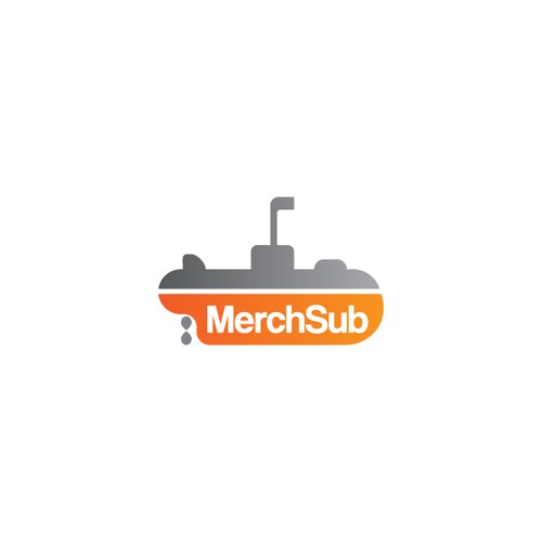 Submarine logo with the title 'MerchSub'