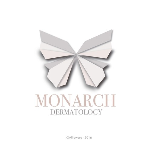 Dermatology logo with the title 'Monarch Dermatology'