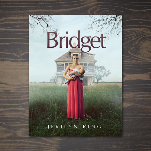 Love book cover with the title 'Bridget Novel Book Cover'