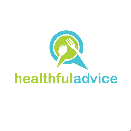 Speech bubble design with the title 'Healthful Advice'