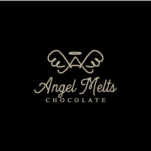 Coco logo with the title 'Angel Melts Chocolate'