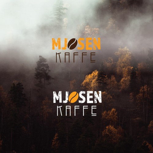 Autumn logo with the title 'Kaffe logo'