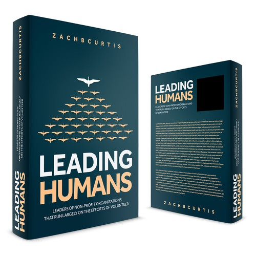 Title design with the title 'Leading Human'