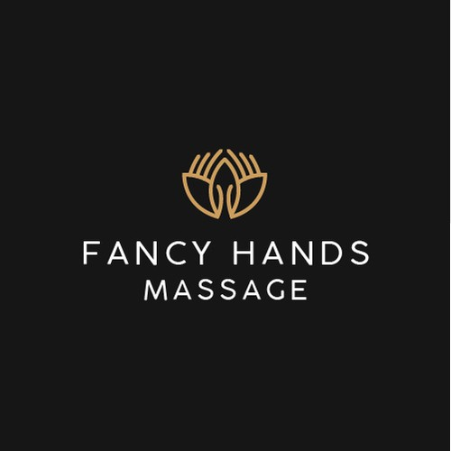 Massage logo with the title 'Minimal Logo Design for a Mobile Massage Business'
