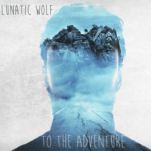 Alternative design with the title 'Lunatic Wolf Require Artwork for their upcoming album!'