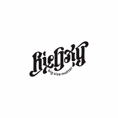 Ambigram design with the title 'Biegxy Clothing Co.'