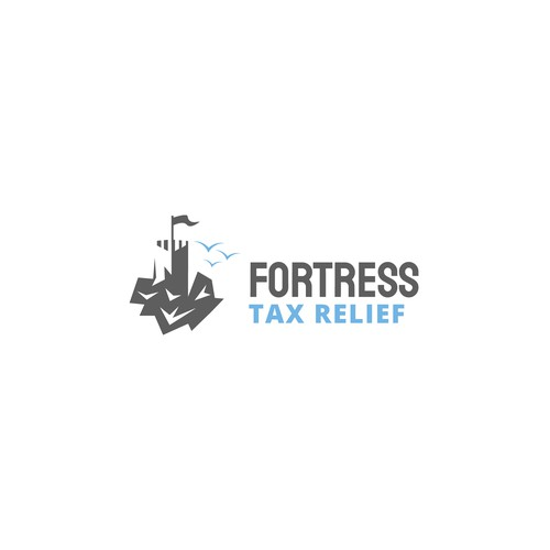 Fortress logo with the title 'Fortress Tax Relief'