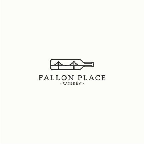 Wine logo with the title 'Fallon Place'