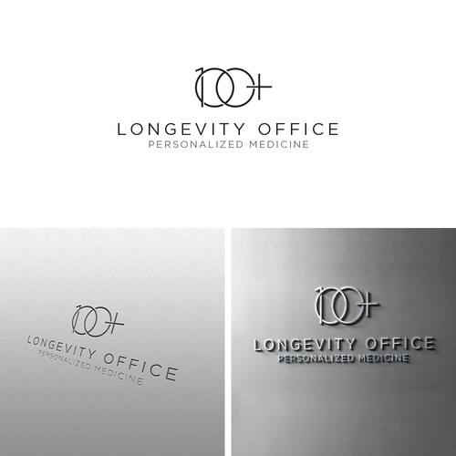 Medical logo with the title 'Longevity Office '