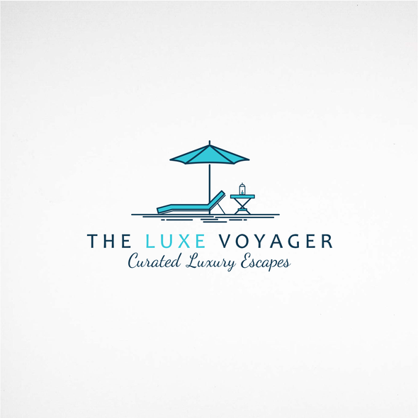 Travel blog logo with the title 'Captivating logo for a new travel blog'