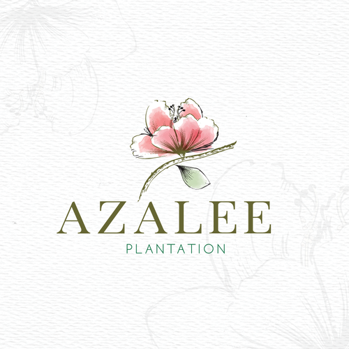 Steam design with the title 'Azalee plantation'