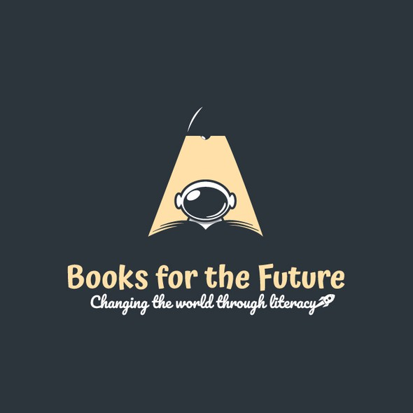 Literacy logo with the title 'Books for the Future'