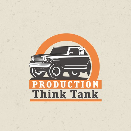 Window logo with the title 'Logo for Production ThinkTank'