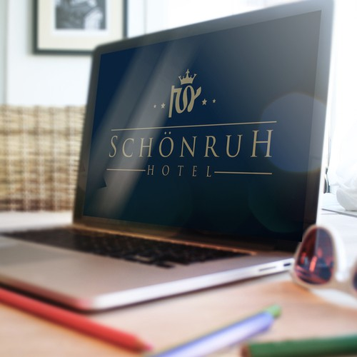 Royal logo with the title 'Hotel Schonruh '