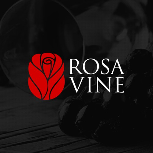 Bud logo with the title 'Rose Vine'