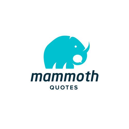 Mammoth design with the title 'Mammoth Quotes'